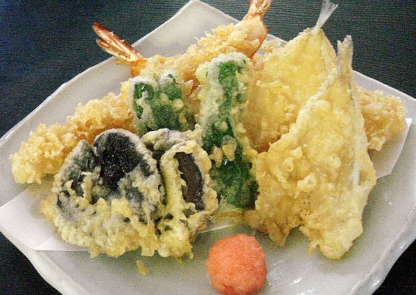 海老天ぷら盛り合わせ写真