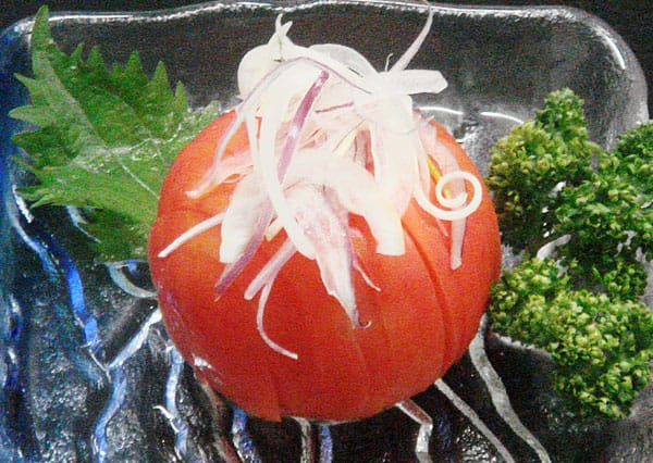 冷やしトマト写真