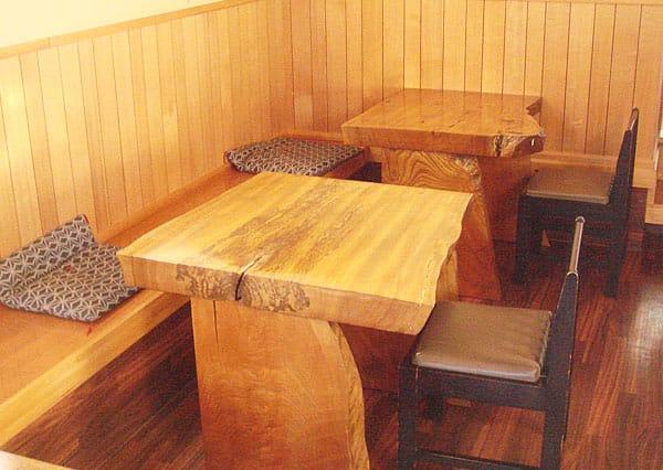 テーブル席写真